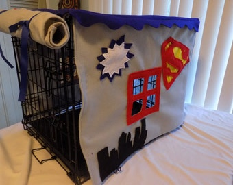 Decorative Pet Crate Cover