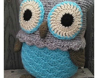 Crochet Owl Amigurumi, owl toy, stuffed owl, amigurumi owl, owl plushy toy