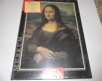 New Vintage Jigsaw Puzzle 1500 Pieces The Mona Lisa