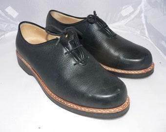 vintage 1980s bavarian  traditional costume shoes    EU 43