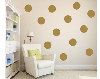 Vinyl wall polk a dots