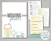 Printable Moving and House Hunting Planner, A5, Instant Digital Download