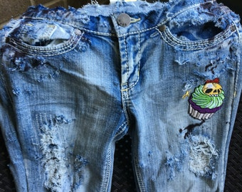 Zombie Cupcake Jeans