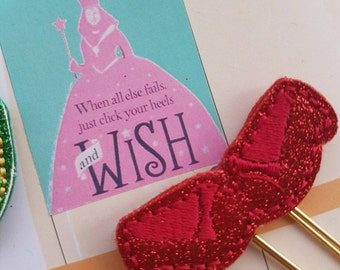 Ruby Slippers Paper Clip