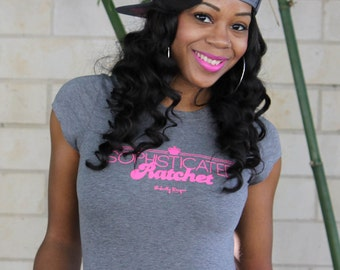 Sophisticated Ratchet Women's Fitted T-Shirt