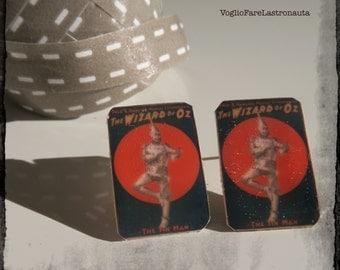 """Earrings manifesto """"Wizard of Oz"""""""