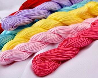 DIY Handmade  Taiwan Jade String Rope Tassel Line, Wholesale-WEN20692655758-GVN