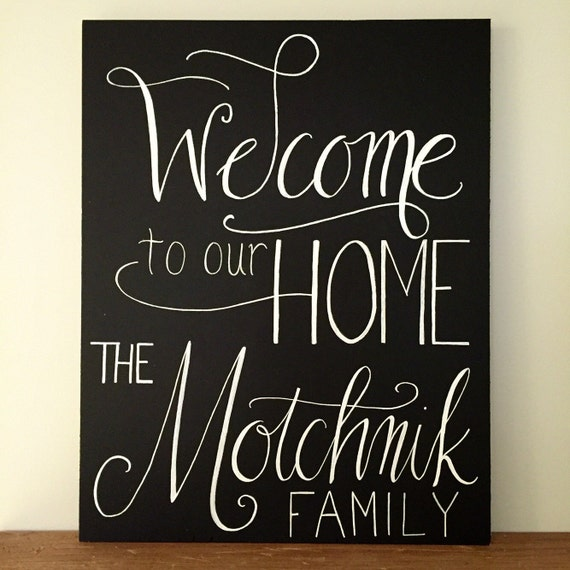 Personalized welcome home sign new home housewarming gift for New home sign