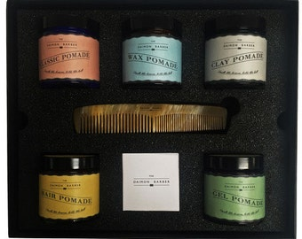Pomade and Comb Gift Box Limited Edition