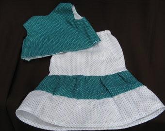 Doll skirt & top