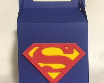 Superman Inspired Goodie Boxes