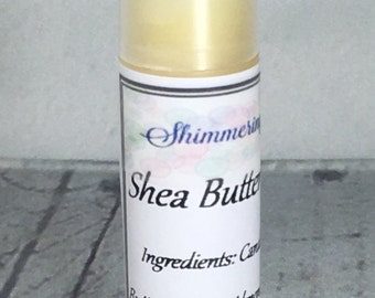 Shea Butter Lip Balm, Unsweetened Lip Balm, Natural Lip Balm, Vegan Lip Balm, One .15oz Lip Balm Tube