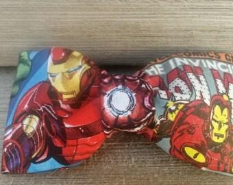 Bowtie,bowties, bowties for men, bowties for boys, IRON MAN Bow Tie! Ironman bowtie, superhero bowtie