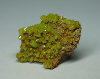 Pyromorphite Specimen, China - Isolated Crystals