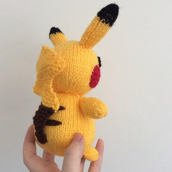 pikachu knitting pattern pokemon doll amigurumi pattern pdf download pokemon ...