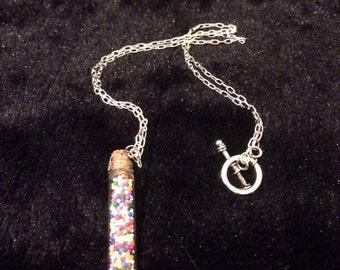 Sprinkle Jar Necklace