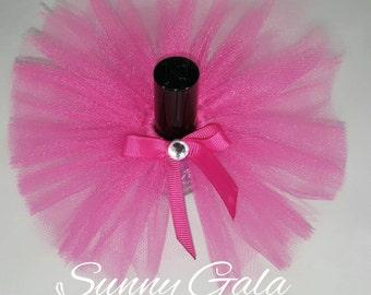 Set of 10 Nail Polish Tutu's (Nail Polish Not Included) - Baby Shower Favors - Girls Birthday Favors - Bridal Shower Favors - Wedding Favors