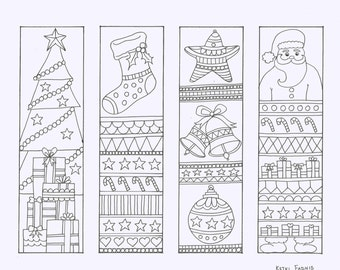 It is a graphic of Dynamite Free Printable Christmas Bookmarks to Color
