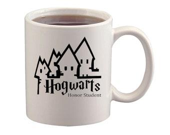 Hogwarts Honor Student - Decal - Car - Mac - Mug- Free Shipping