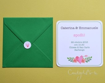 30 WEDDING INVITATIONS