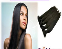 100% Virgin Hair Extensions/ Human Hair Extensions/ Virgin Hair-Deluxe Straight