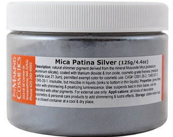 Mica Patina Silver