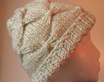 Womens Knitted Warm Winter Hat