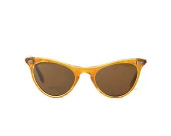 CICO Cat Eye Vintage woman girls brown cream smoky boy Plastic Frames Retro Vintage Eyeglasses Hipster retro Eyewear Frames