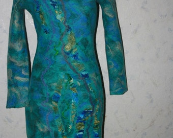 felted dress spetial for Malgorzata