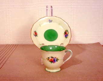Noritake Demitasse Cup and Saucer