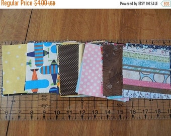 """On sale Quilter's Cotton Cut Into 4"""" Squares"""