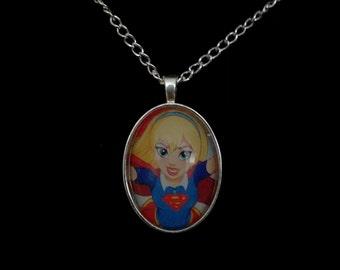 DC Superhero Girls Series Supergirl Pendant