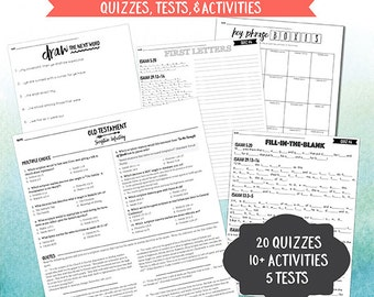 Scripture Mastery Quizzes - Old Testament