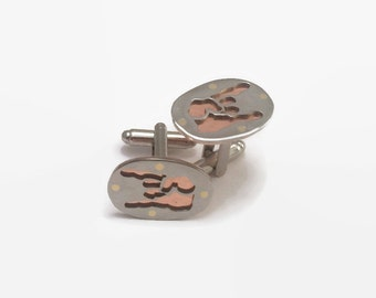 Devil Horns Cufflinks - Heavy Metal Jewelry - A perfect gift for the classy metalhead or rocker