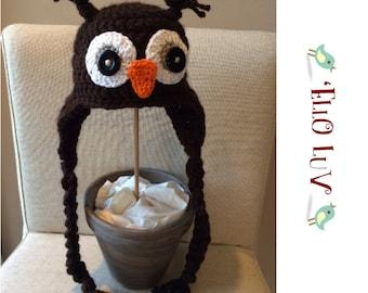 What A Hoot! Crochet Owl Hat