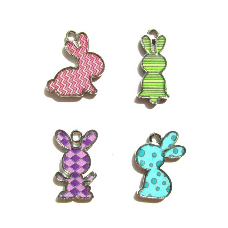 bunny rabbit charms jewelry charms bracelet charms