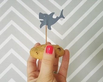 Shark Food Flag