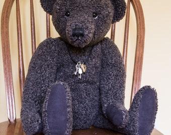 "Big Bob, 22"" OOAK Mohair Artist Bear by Patricia Bruce Bears"