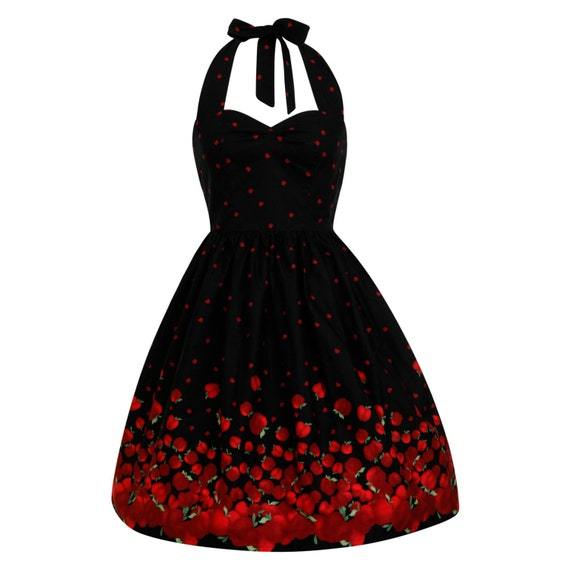 Dress rockabilly dress 50s party vintage style dress bridesmaid dress