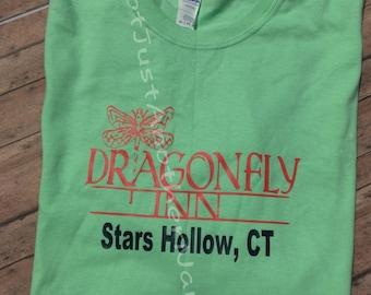 Dragonfly Inn Shirt - Gilmore Girls Shirt - Stars Hollow Connecticut - Lorelai - Rory - Sookie