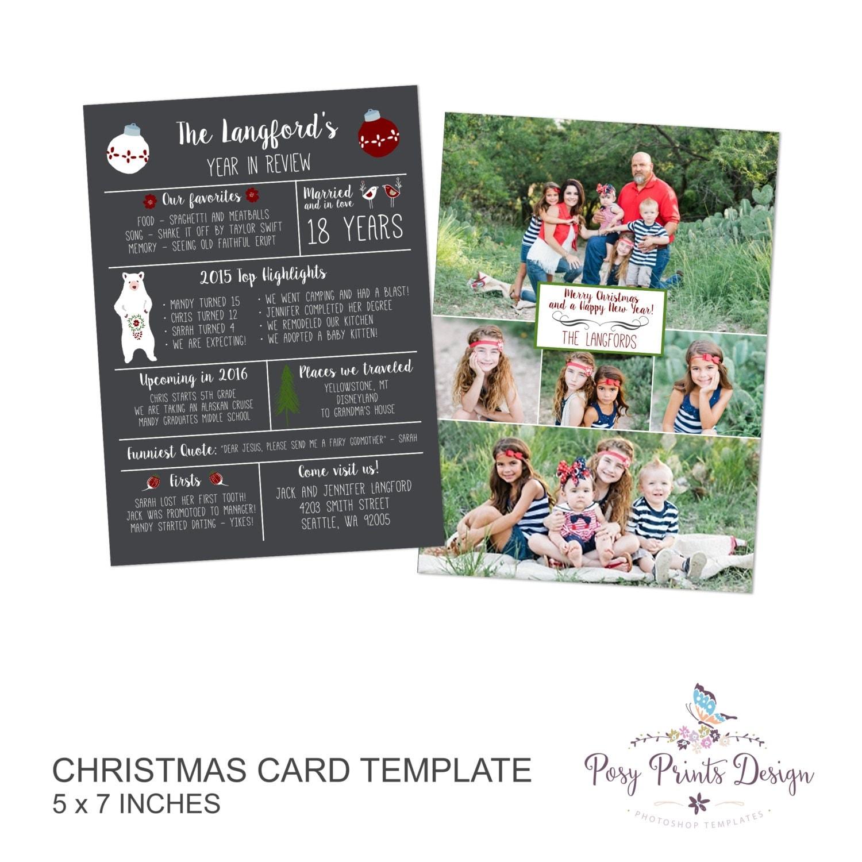5x7 card templates