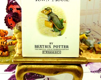 The Tale of Johnny Town Mouse Beatrix Potter Beautiful Illustrations Vintage Hardback Book 1st Edition Thus