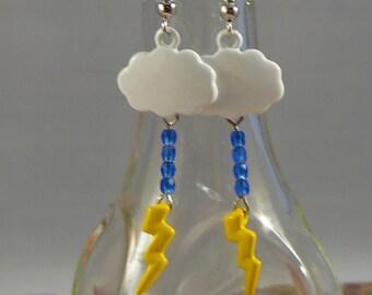 Thunder and Lightning Earrings