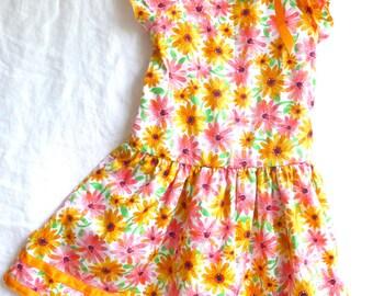 Fresh Citrus Party Dress