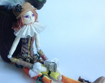 Orlando Art Doll - bjd - bead jointed doll fictional character by Virginia Woolf