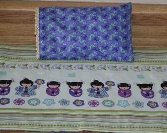 Oriental Cuties 18 inch doll bedding set