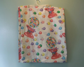 80s Lisa Frank Gumball Machine Bed Sheets