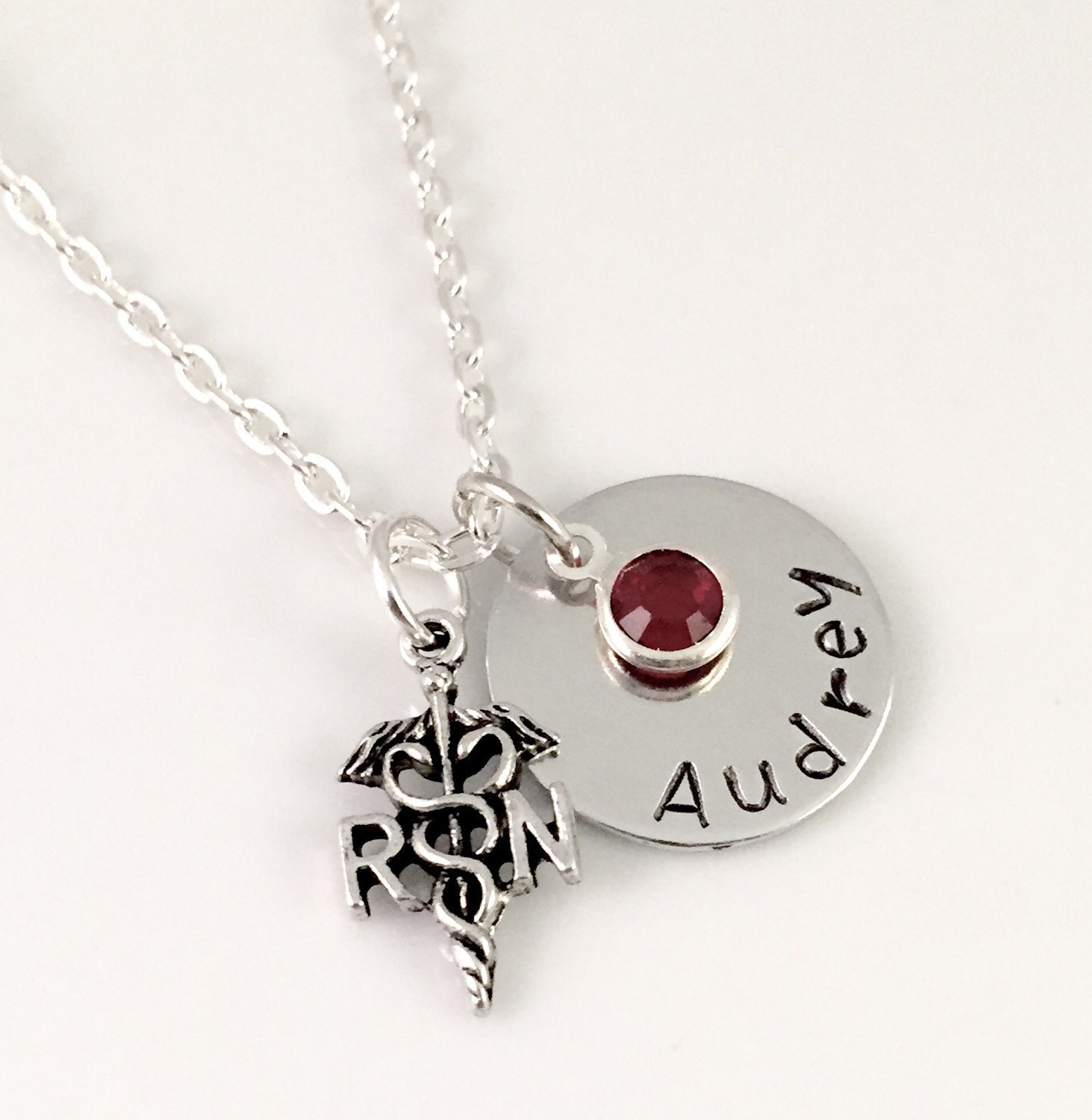 personalized necklace custom charm necklace
