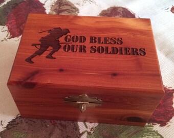 Cedar Box - Soldiers