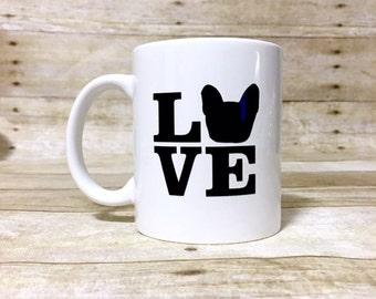 Custom LOVE Dog Themed Coffee Mugs!